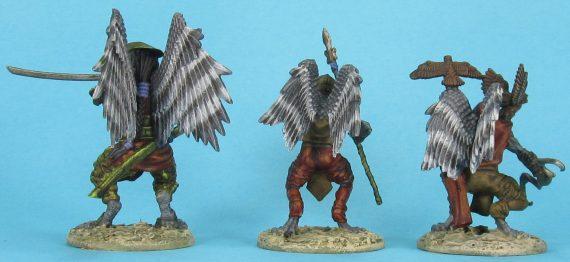 Tengu bird people- back
