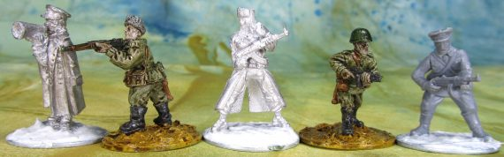 Comparison of Gaddis Gaming and Warlord Games Soviet figures