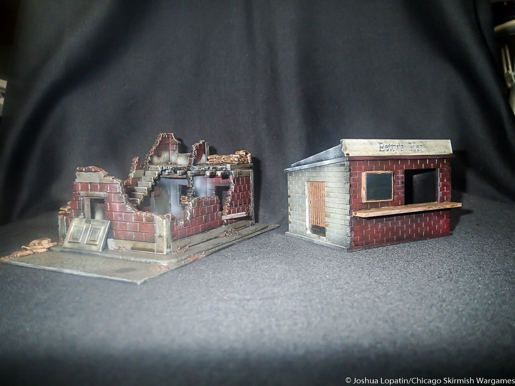 Review: Small Terrain kits from Warlord and Ainsty Castings